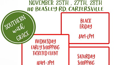 Early Wednesday Shopping for Black Friday Warehouse Event tickets