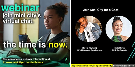 Mini City Webinar: The Time is Now tickets