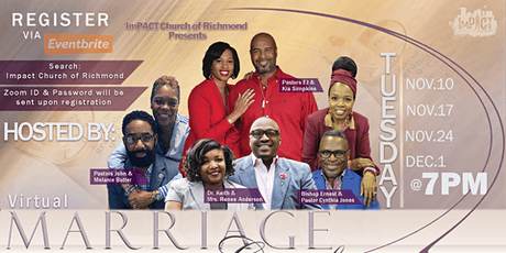 ICoR Virtual Marriage Conference tickets