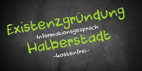 Existenzgründung Online kostenfrei - Infos - AVGS  Halberstadt Tickets