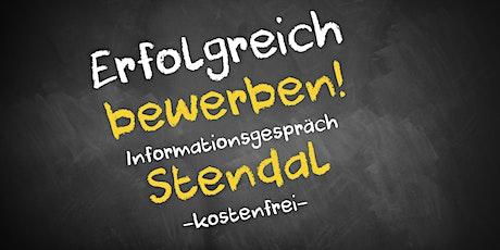 Bewerbungscoaching Online kostenfrei - Infos - AVGS  Stendal Tickets