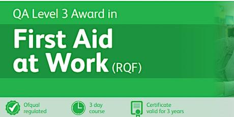 QA First aid at work Level 3