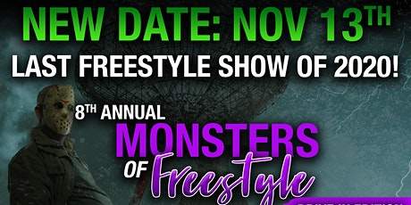 8th Annual Monsters Of Freestyle!: Adventureland Drive-in Concert Series tickets