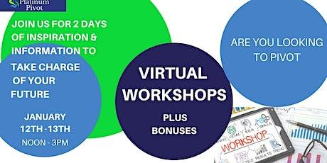 Platinum Pivot Virtual Workshops tickets