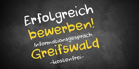 Bewerbungscoaching Online kostenfrei - Infos - AVGS  Greifswald Tickets
