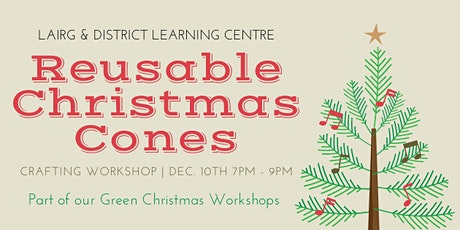 Christmas Cones Digital Workshop tickets