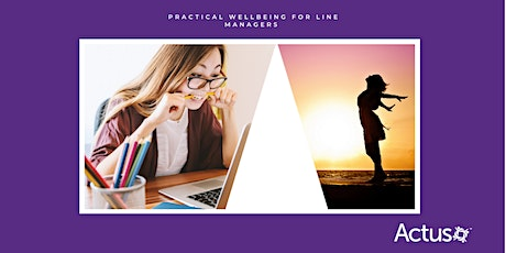 Webinar: Practical Wellbeing for Line Managers tickets