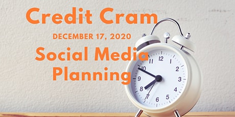 Social Media Planning (In-person or VIRTUAL)(#256-4884-E, 2 CEUs) tickets