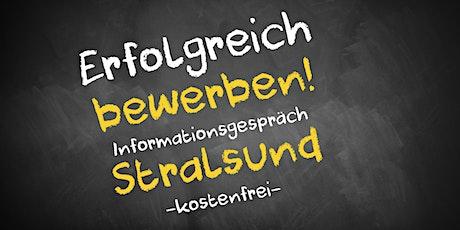 Bewerbungscoaching Online kostenfrei - Infos - AVGS  Stralsund Tickets