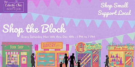Shop the Block - An Outdoor Holiday Shopping Experience