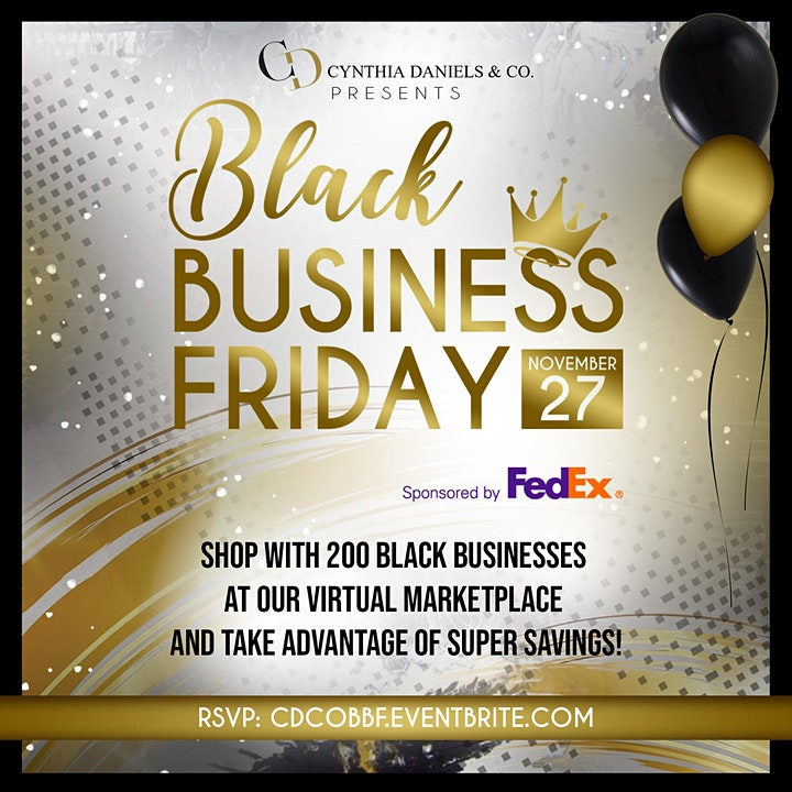 Virtual Black Business Friday image