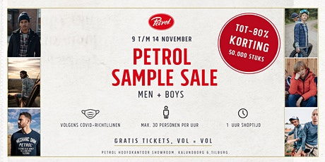 SAMPLE SALE | Petrol Industries tickets