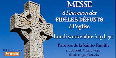Commémoration de tous les défunts, lundi 2 novembre 2020 billets