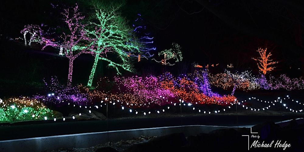 Honor Heights Park Christmas Lights 2020 Garden of Lights 2020   Muskogee Honor Heights Park (Season Pass
