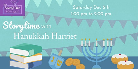 Story Time with Hanukkah Harriet
