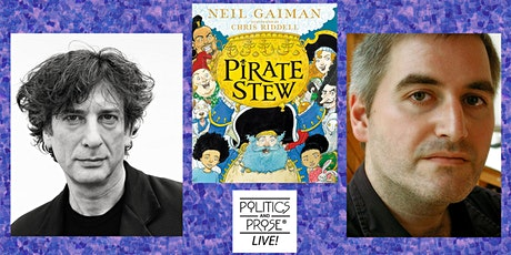 Neil Gaiman and Chris Riddell | PIRATE STEW with Isaac Fitzgerald tickets