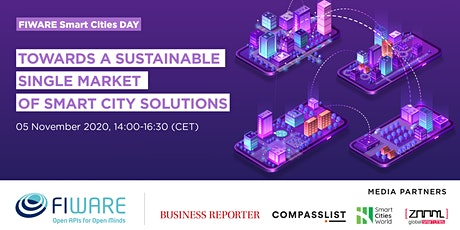 FIWARE Smart Cities DAY - Edition 2 tickets