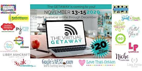 The 2020 Virtual Getaway Presented by The Applique Getaway tickets