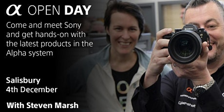 Sony In-Store Day, Castle Cameras Salisbury tickets