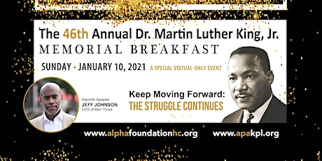 46th Annual Dr. Martin Luther King, Jr. Memorial Breakfast tickets