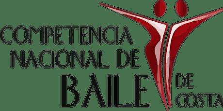 COMPETENCIA NACIONAL DE BAILE COSTA RICA 2020 entradas