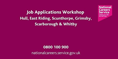 Application  Forms Workshop - Humber, East Riding, North East Lincolnshire tickets
