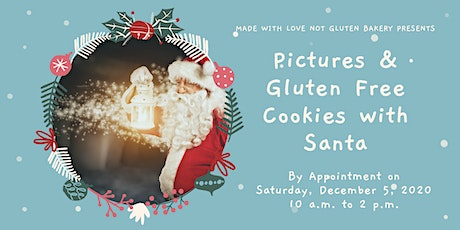 Pictures & Gluten Free Cookies with Santa tickets