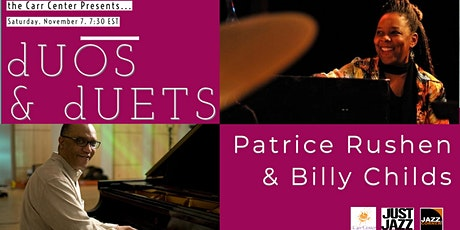 """""""dUOS & dUETS""""  featuring Patrice Rushen and Billy Childs tickets"""