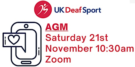 UK Deaf Sport AGM tickets