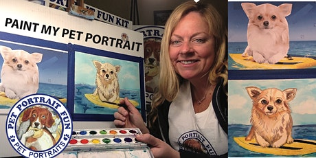 Paint _Night SIP and PAINT A PET PORTRAIT FUN- Online tickets