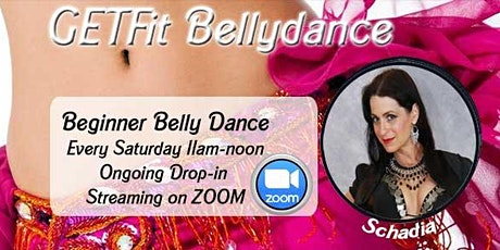 GetFIT Belly Dance - Streaming Only tickets