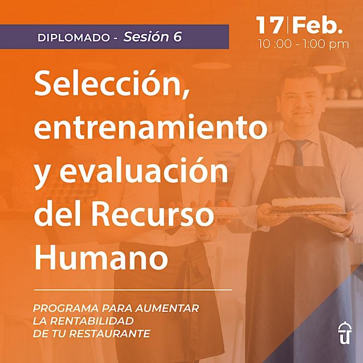 Imagen de Sesión 6. Selección, entrenamiento y evaluación del Recurso Humano
