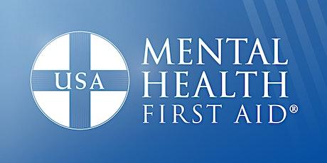 MWCAC Presents: Mental Health First Aid Virtual Training tickets