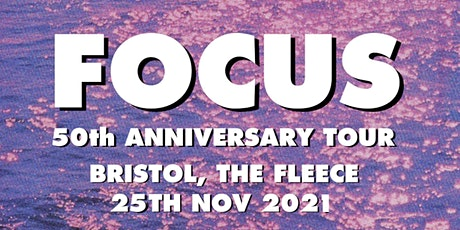 Focus - 50th Anniversary Tour tickets