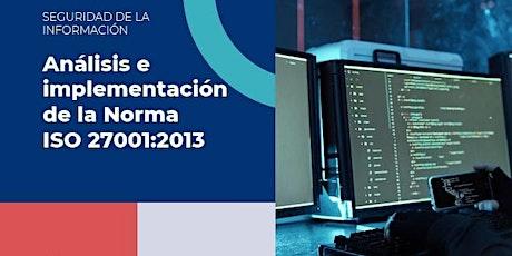 Análisis e Implementación de la Norma ISO 27001:2013 boletos