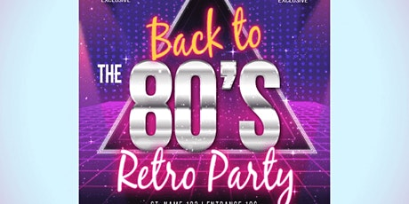 80's theme party tickets