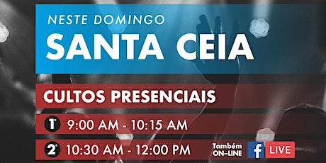 Trinity Cultos  I  Santa Ceia  I  1º de Novembro ingressos