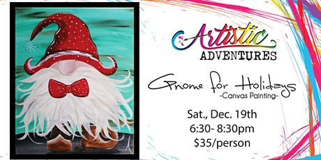 Gnome for Holidays- Canvas Painting tickets