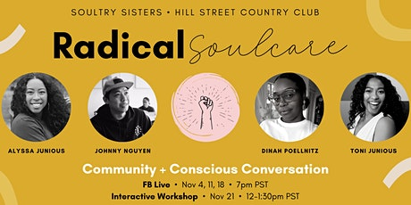 Radical SOULcare: Community Workshop tickets