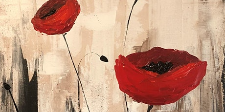 Poppies paint night at Broadway's Rockland tickets