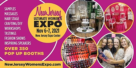 New Jersey Women's Expo Beauty + Fashion + Pop Up Shops, Nov. 6-7, 2021 tickets