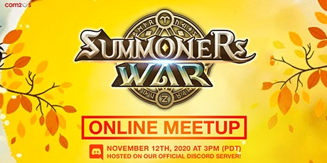 Summoners War November Online Meetup! tickets