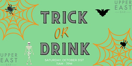 Trick or DRINK tickets