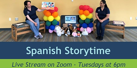 Storytime in Spanish (Live Virtual Program) tickets