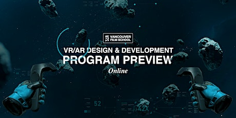 VFS VR/AR Design & Development Program Preview tickets