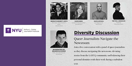 Diversity Discussion: Queer Journalists Navigate the Newsroom tickets