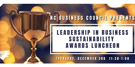 NCBC Business Sustainability Awards Luncheon tickets