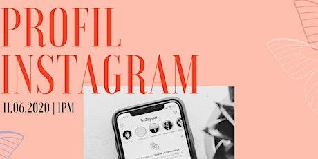 Profil Instagram billets