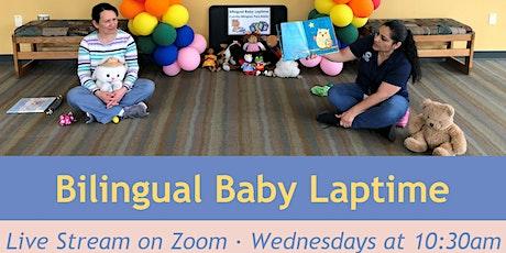 Bilingual Baby Laptime (Live Virtual Program) tickets