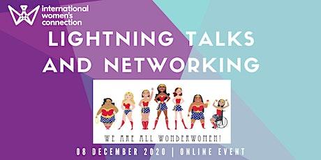 International Women's Connection - Lightning Talks and Networking #digital